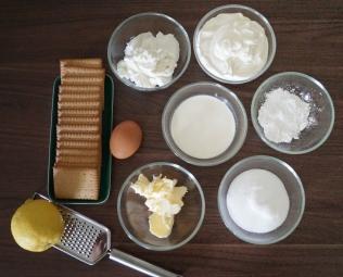 Zutaten Mascarpone-Cheesecake