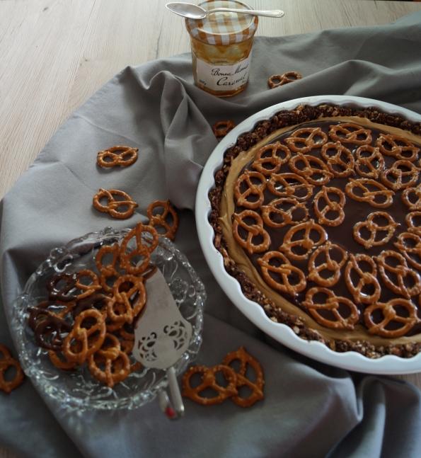 01 Schoko erdnuss karamell tarte