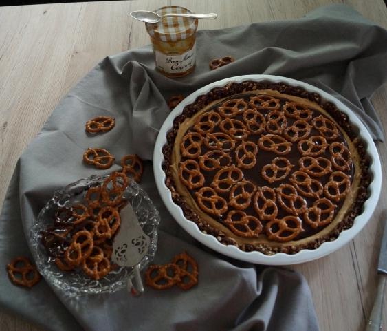 02 schoko erdnuss karamell tarte