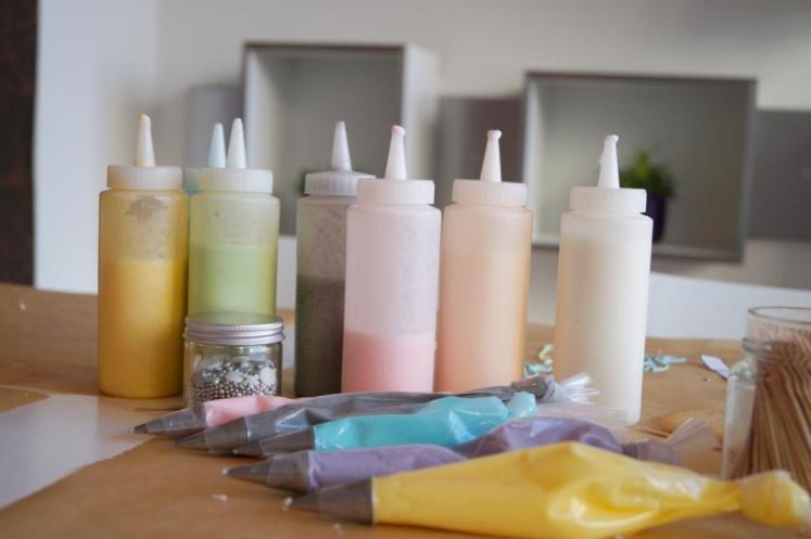 Eine schöne Farbpalette in Pastell.