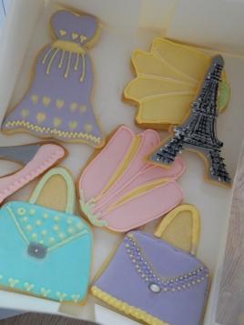 Meine Kekse vom Keksdesign Backkurs.