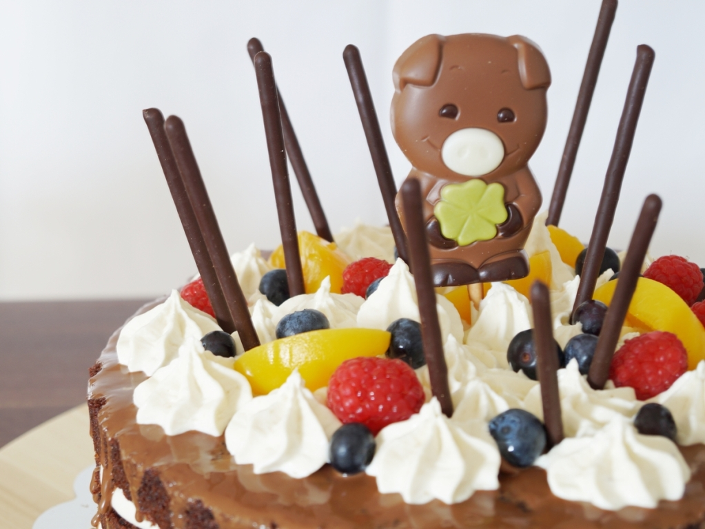 02_Schoko Obst Torte