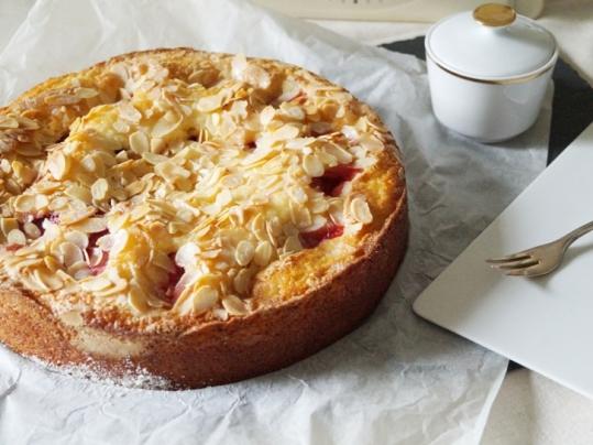 Erdbeer Mandel Kuchen