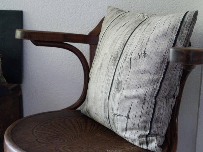DIY Nähprojekt für Anfänger: Kissen mit Hotelverschluss