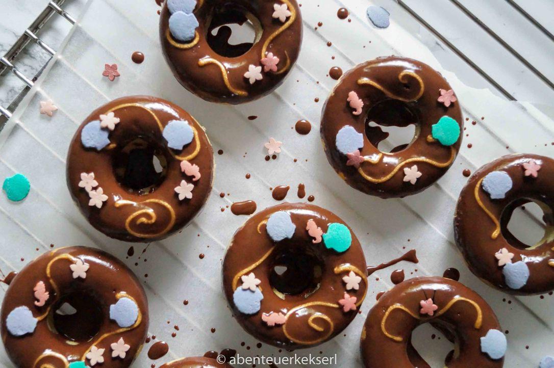 Meerjungfrau Schoko Donuts (1 von 5)