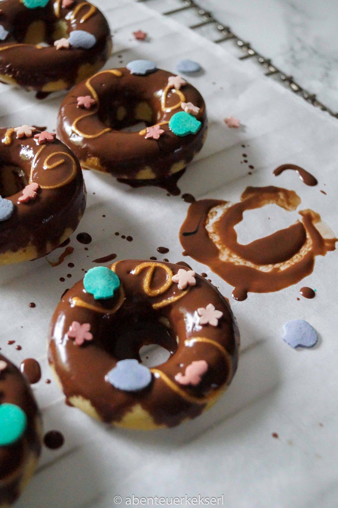 Meerjungfrau Schoko Donuts (2 von 5)
