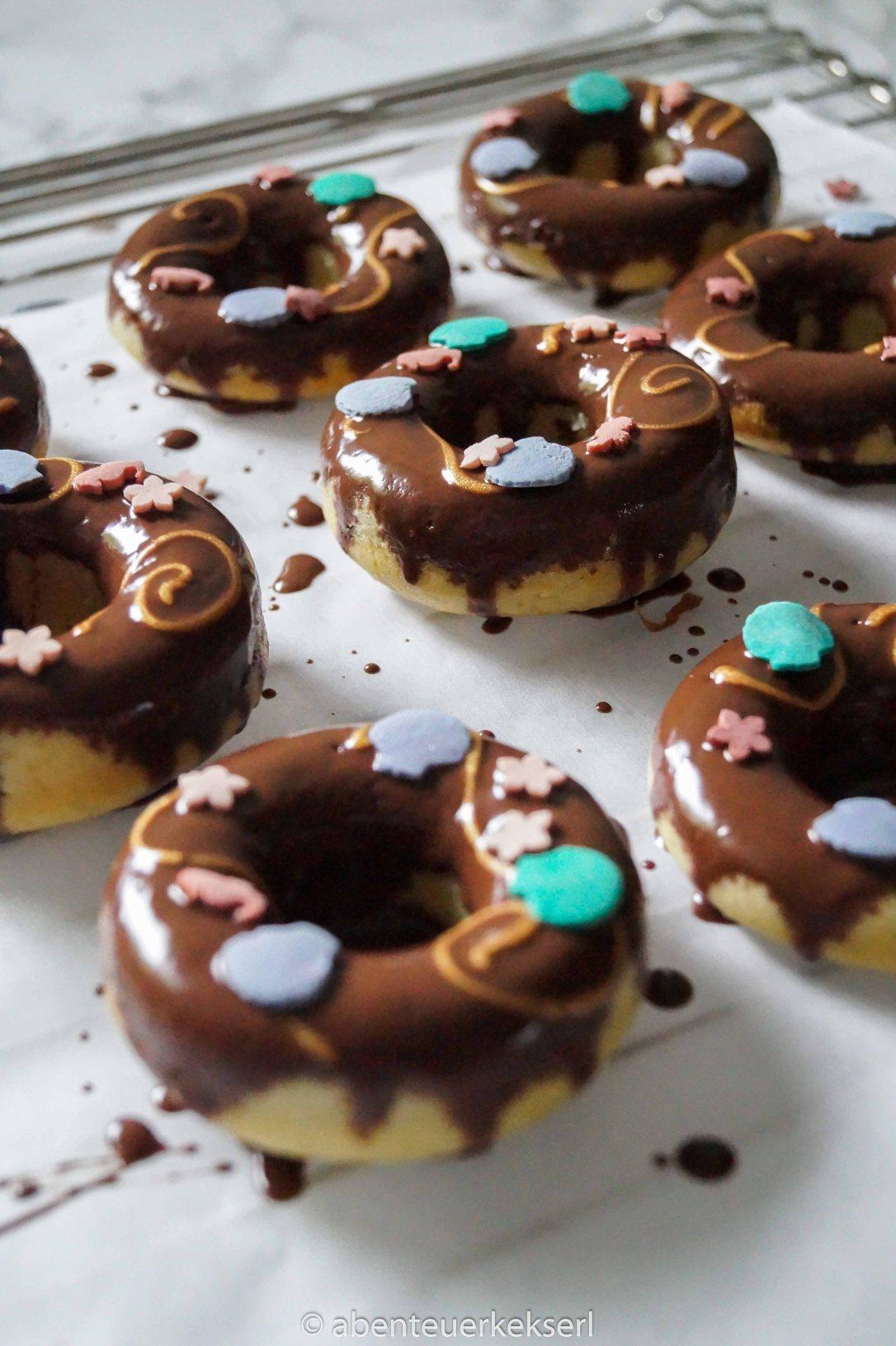 Meerjungfrau Schoko Donuts (4 von 5)