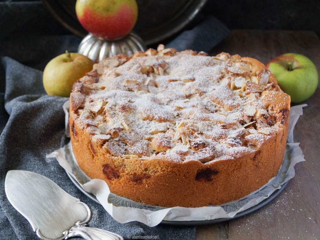 Gerührter Apfelkuchen (1 von 5)