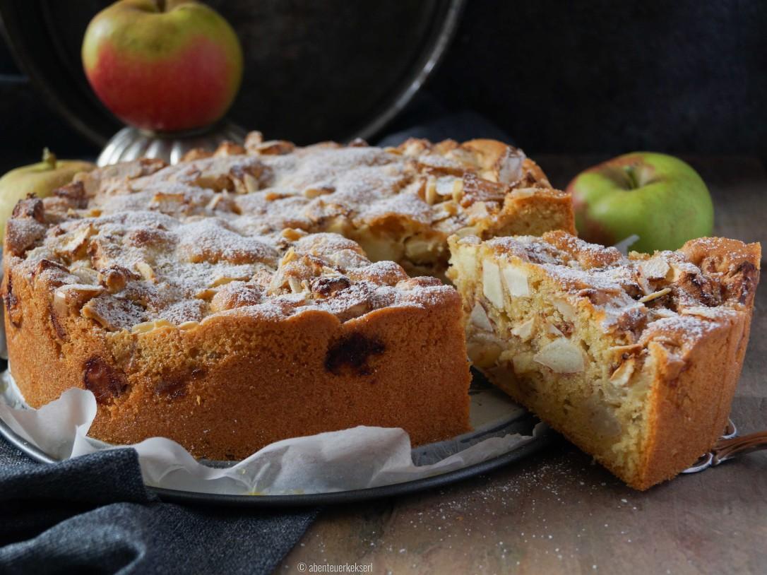 Gerührter Apfelkuchen (4 von 5)