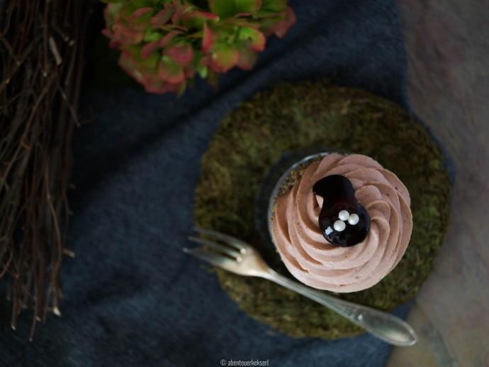 Mohn-Zwetschken Cupcakes