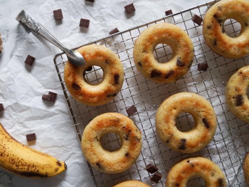 Schoko-Bananen Donuts (1 von 5)