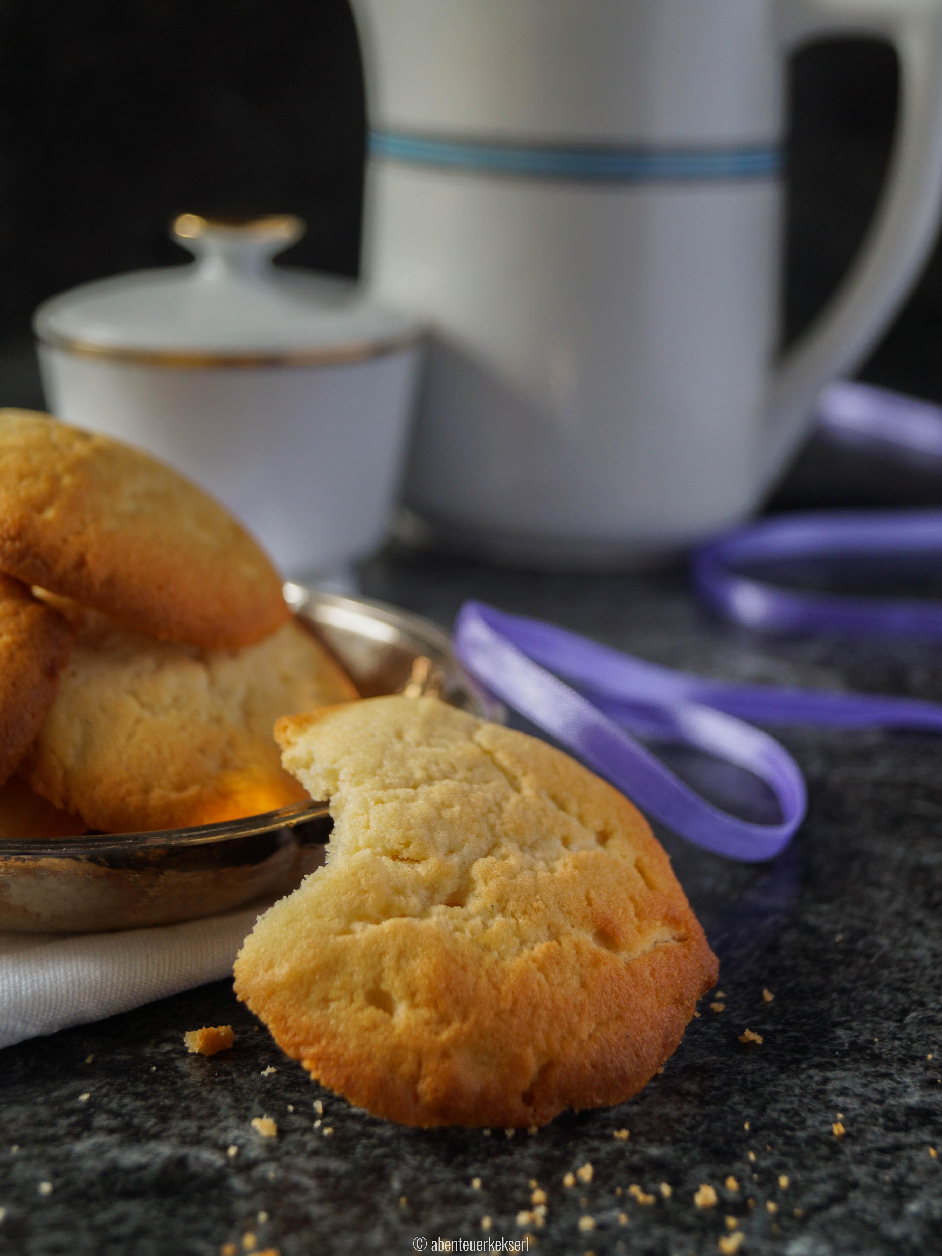 Dinkel-Frischkäse Cookies