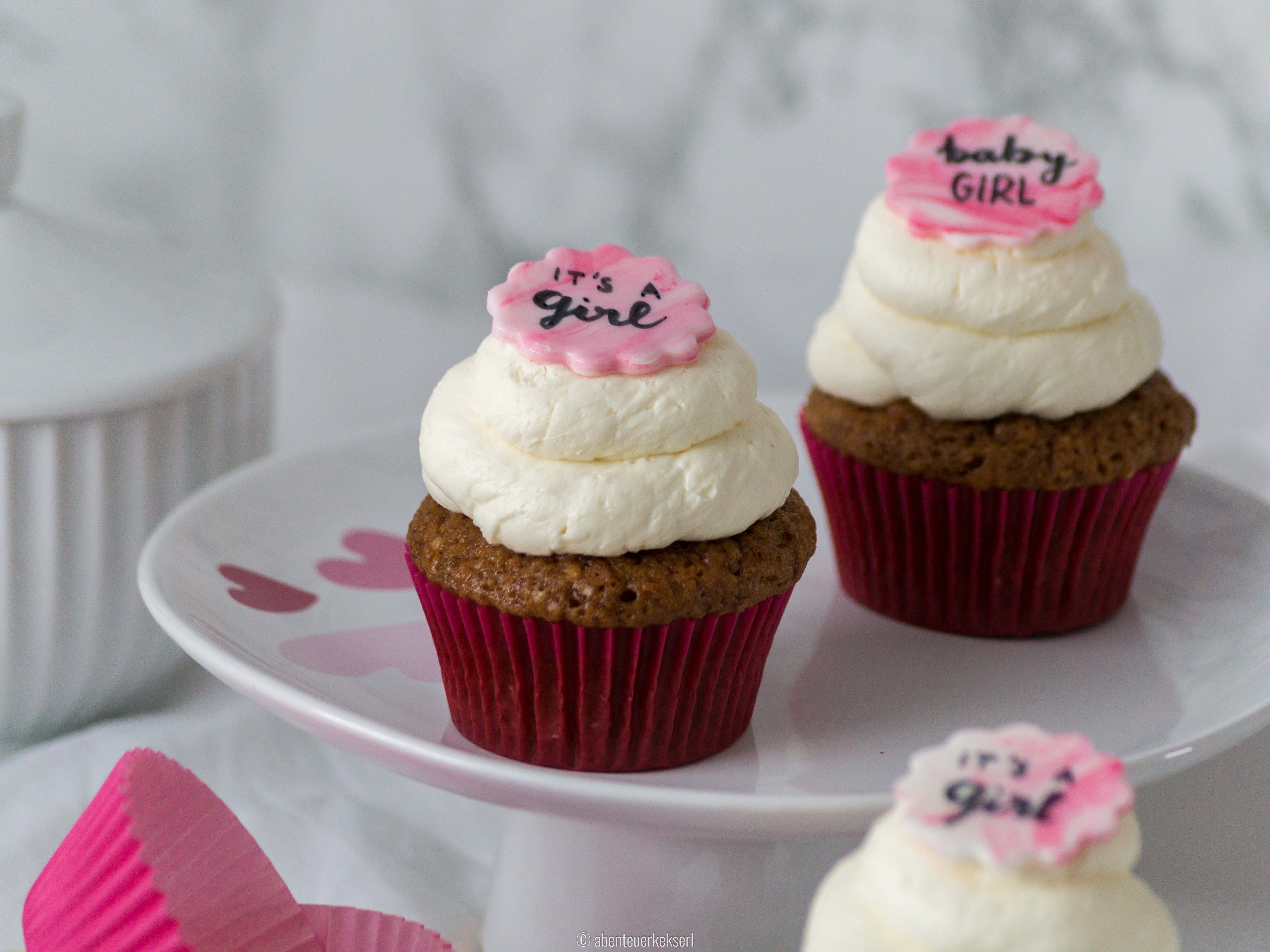 Babyparty Cupcakes - It's A Girl