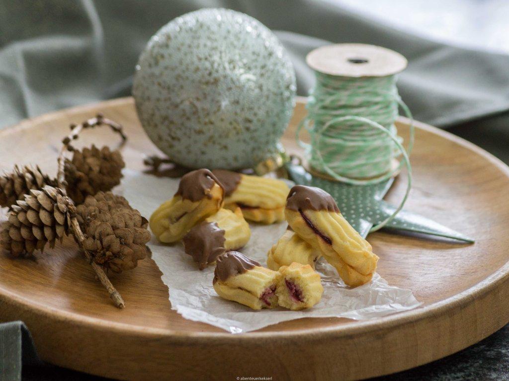 Mürbes Spritzgebäck - klassisch und gelingsicher, mit Marzipan