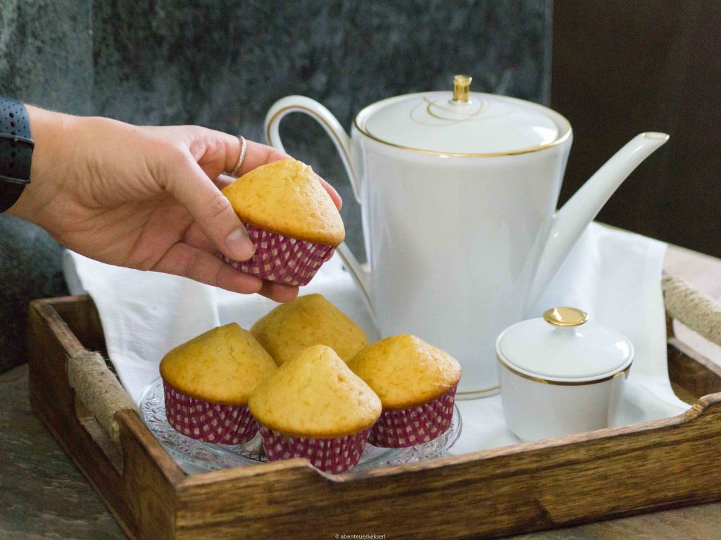 Basisrezept Vanillemuffins - Abenteuerkekserl