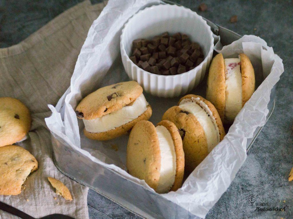 Cookie-Eis-Sandwiches //Eissandwich