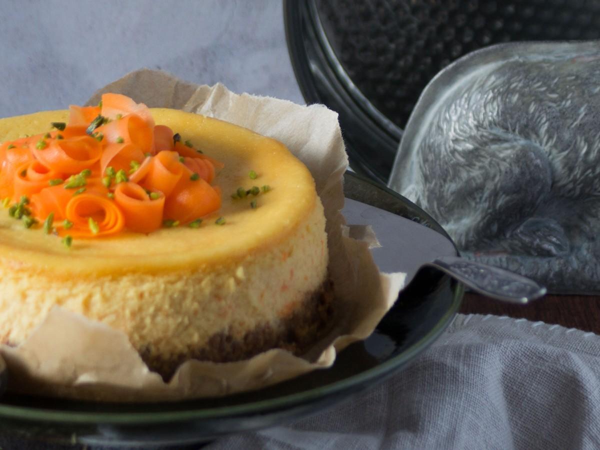 Karotten Cheesecake, Karotten Käsekuchen